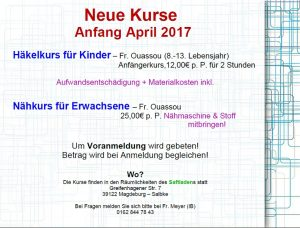 2017-04 neue kurse